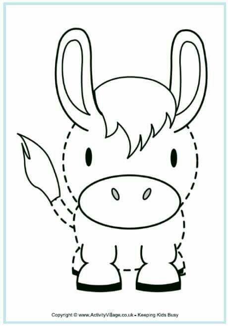 Trazo burro