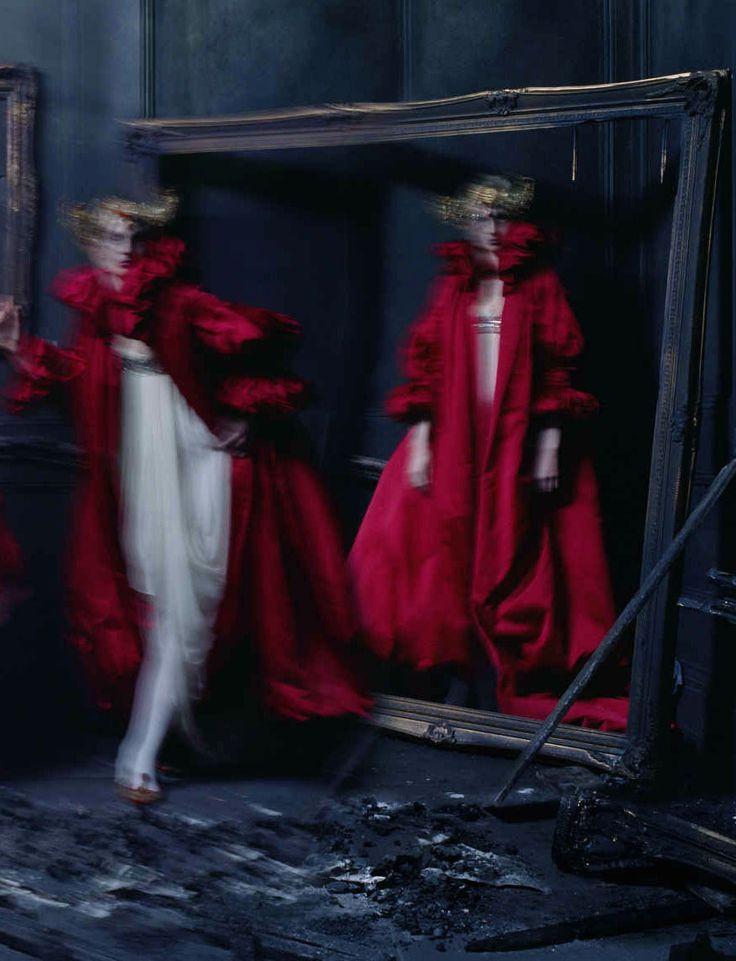 'Dark Angel', photographed by Tim Walker for British Vogue, March 2015