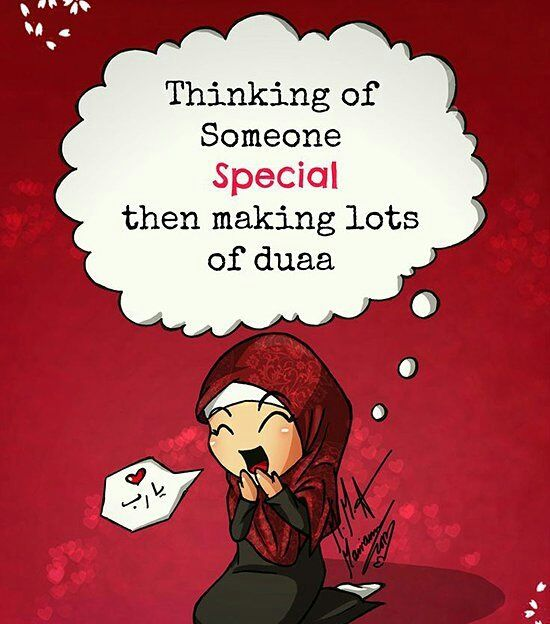 When you love someone, you want the best for them... Make duaa and ask Allah to draw them closer to Him!