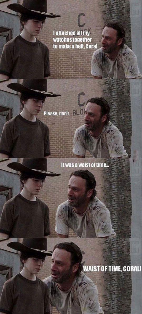 The Walking Dead: Rick Grimes dad jokes