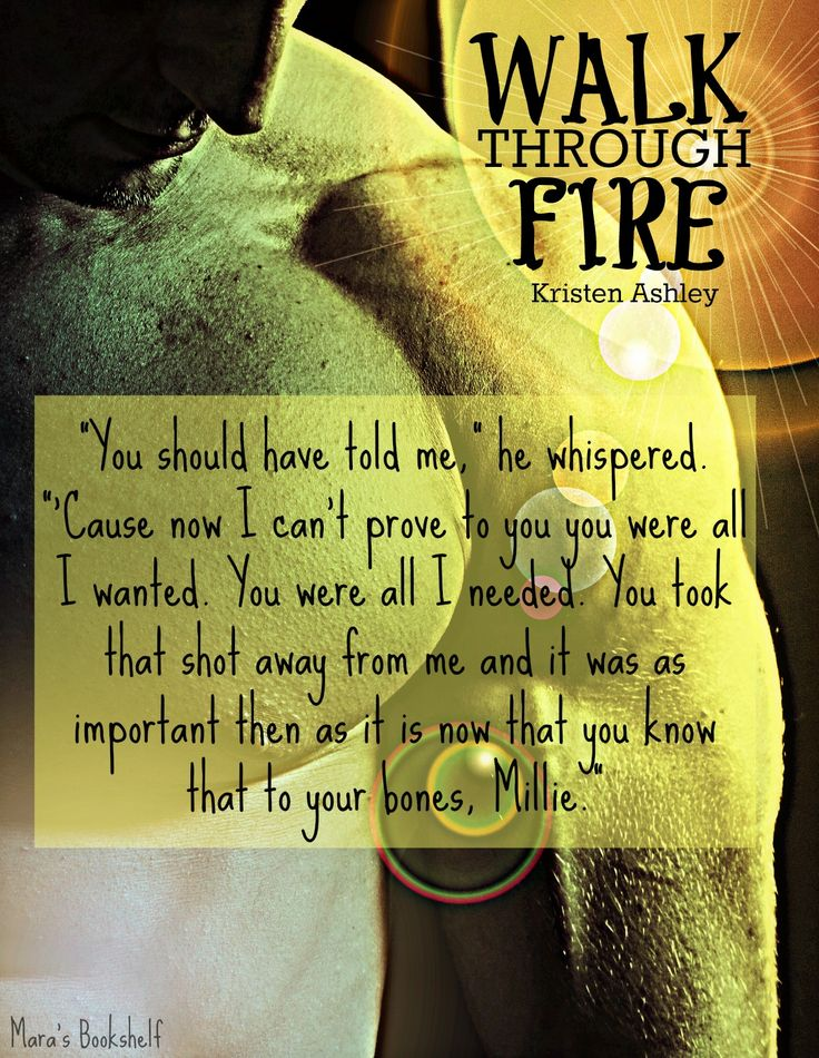 REVIEW: Walk Through Fire (Chaos #4) - Kristen Ashley ~ Mara's ...