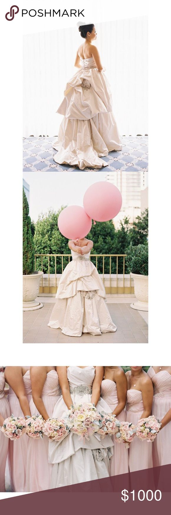 🆕👰🏻 Kenneth Pool Wedding Gown 📸 Photo credit: https://lovellabridal.com/susan-in-absolutely-perfect-kenneth-pool-ball-gown-marries-jade/ Kenneth Pool Dresses Wedding