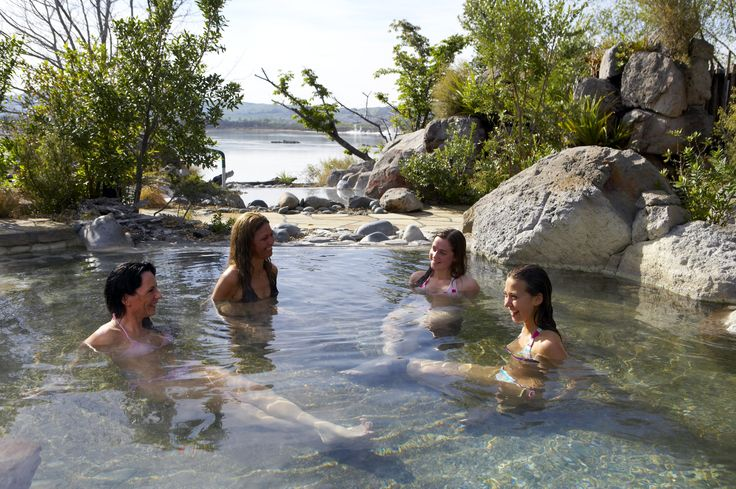 A great idea for hen's parties at Polynesian Spa