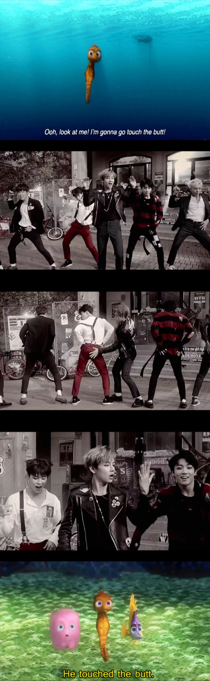 He touched the butt... http://uk.mtvema.com/vote#cat=worldwide-act - VOTE BAP!