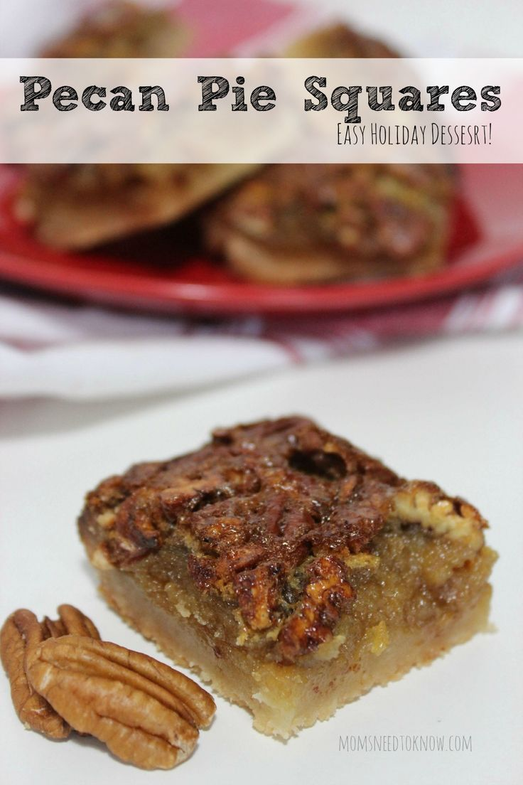 Need another idea for a dessert for Thanksgiving or Christmas? These pecan pie bites are so easy to make and taste fabulous!