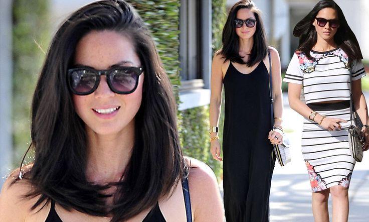 Olivia Munn collar bone-length hair