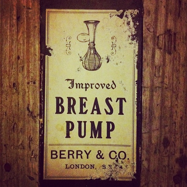 Improved breast pump by Berry & Co London
