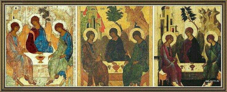 Икона Андрея Рублева.
