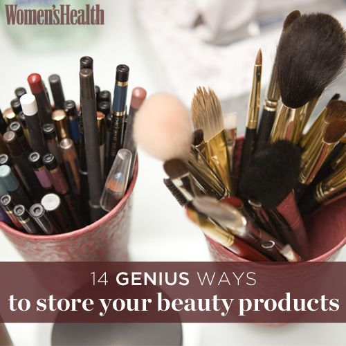 14+Genius+Ways+to+Store+Your+Beauty+Products