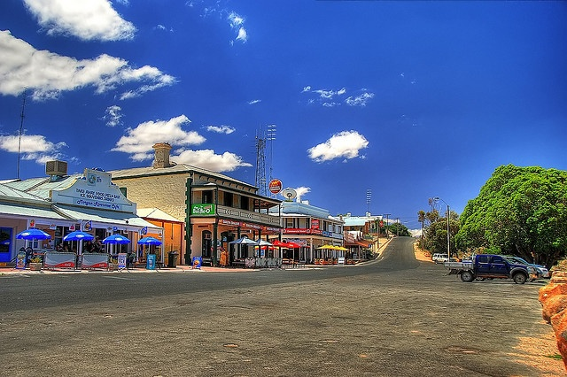 Morgan, South Australia.  An outback town.