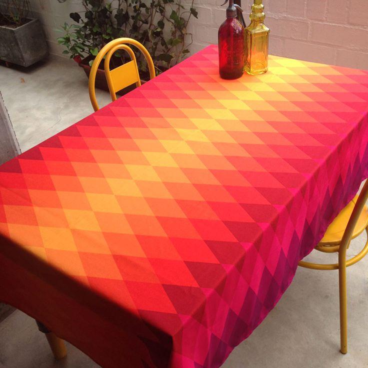 Mantel Rombos de colores