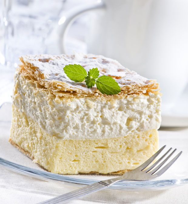 Slovenian-Cream-Cake. Just one of the many treats you may find on a SLOVENIAN…