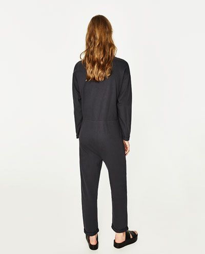 Immagine 5 di TUTA COMBINATA POPELINE di Zara