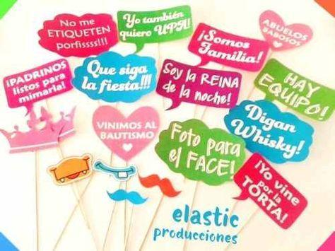 Photo Booth Props Fiestas Cumpleaños 40 Unidades - $ 270,00 en ...