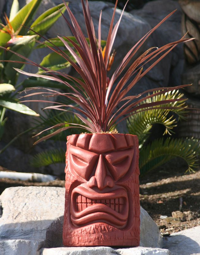 The Tiki Shop - Tropical Accessories Tiki Planters Fountains ect