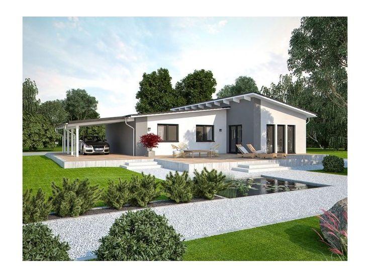 life 110 l pultdach einfamilienhaus von bau mein haus vertriebsges mbh hausxxl fertighaus. Black Bedroom Furniture Sets. Home Design Ideas