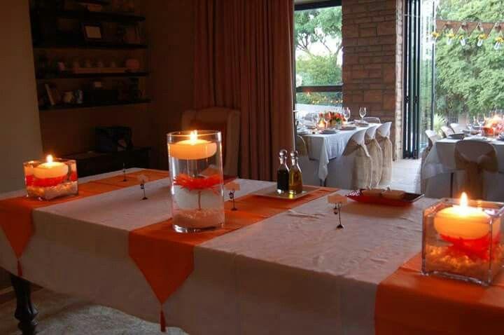 Main buffet  table
