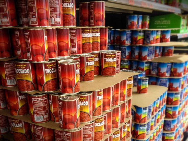 Wo gibt es hier Tomatenpüree zu kaufen?