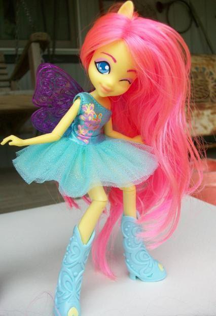 My Little Pony Friendship is Magic Equestria Girls Fluttershy Custom Doll
