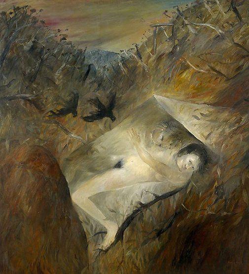 Lysistrata I by Arthur Boyd (1971, oil on canvas, AGNSW)