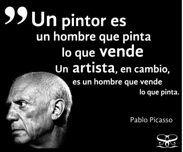 14 frases de Picasso sobre los artistas y el éxito