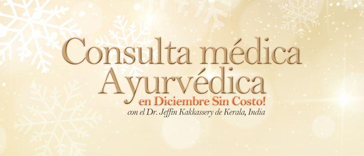 Recibe valoración médica ayurveda #Gratis en Naturveda con especialista de la #India #Navidad2014 #ayurveda