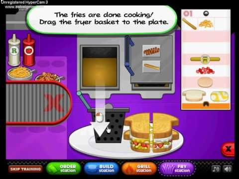 Papa's Cheeseria    Papa Louie Game    Cool Game