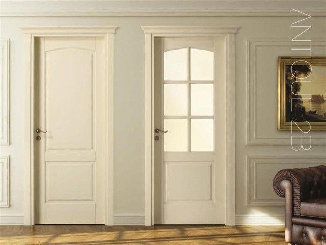 Biele talianske dvere