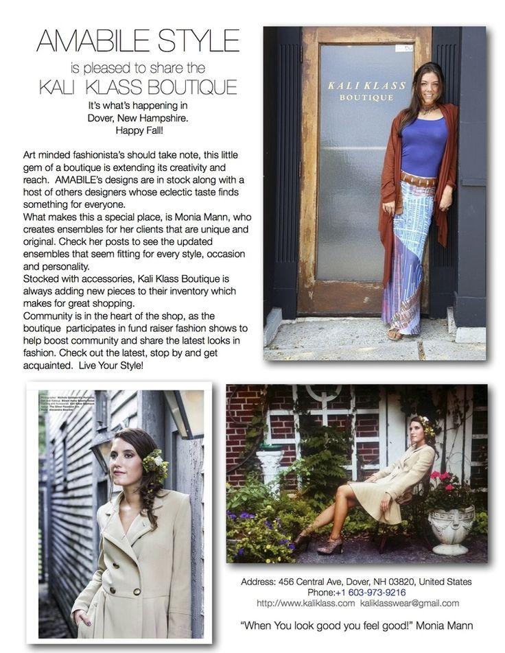 AMABILE STYLE introduces you to THE KALI KLASS BOUTIQUE — AMABILE STYLE