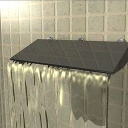 This is awesome. Waterfall Shower Panel