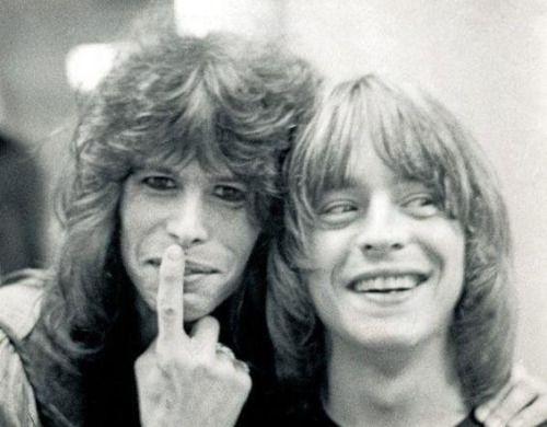 Steven Tyler and Rick Derringer