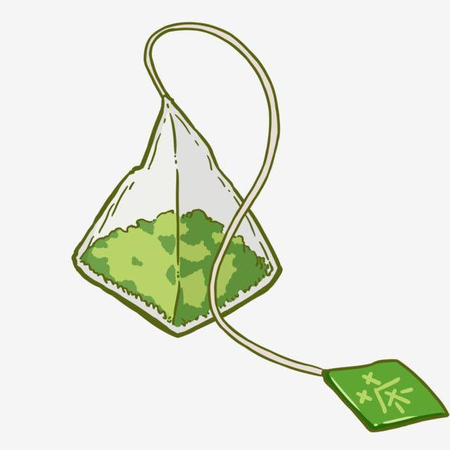 Green Tea Bag Tea Illustration Tea Bags Png Transparent Clipart Image And Psd File For Free Download Tea Leaves Illustration Tea Illustration Green Tea Bags