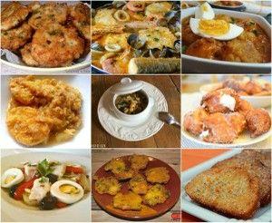 En la mayoría de estas recetas para Semana Santa y Cuaresma, el pescado es protagonista. Las ha reunido en este post la autora del blog SABRINA'S SEA OF COLORS.