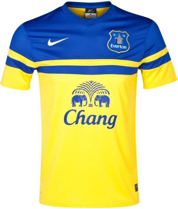 Everton 2013/14 Nike Away Kit