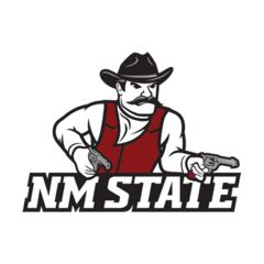 NCAA collegiate sports merchandise, gifts and gear for the super fan of the New Mexico State Aggies offered by Team Sports.