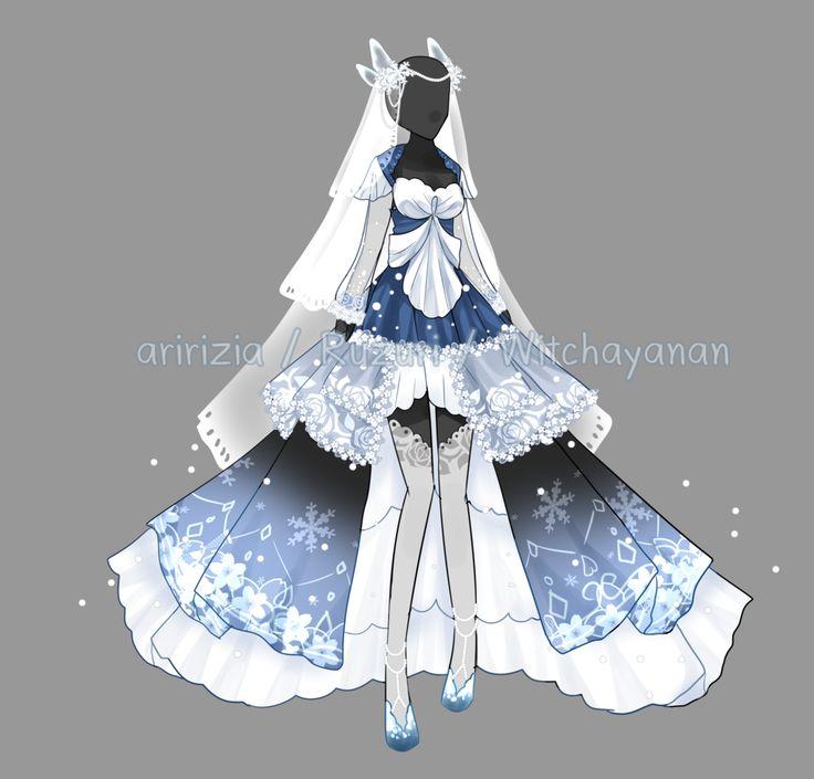 [OPEN] Glacial duchess outfit [Auction] by aririzia