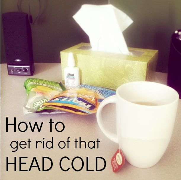 10 Ways to Get Rid of a Cold