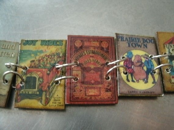 Vintage Children's Book Bracelet by southernheidibelle on Etsy, $65.00