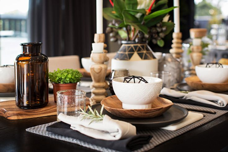 Styling A Table: Styling a table made easy with Metricon's LookBook and fabulous team of interior designers.