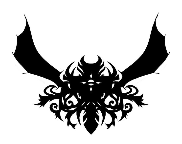 Tribal Ish Winged Creature Thing By GoRillA INK On DeviantArt