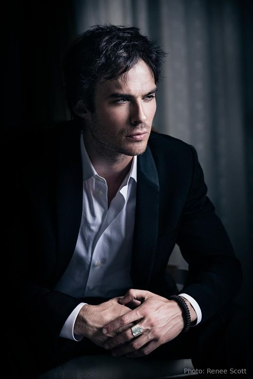 Ian Somerhalder.. My pick for Christian Grey!