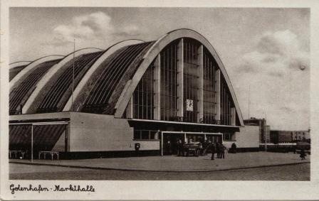 Hala Targowa, Gdynia, Poland, built between 1935-38