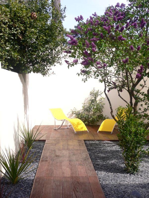 stadstuin ontwerpen - bestrating kleine tuin