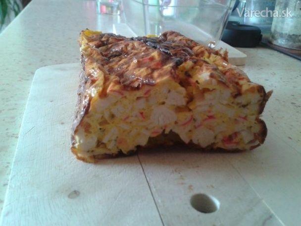 Chlebík so surimi (že vraj krabie tyčinky) - Recept