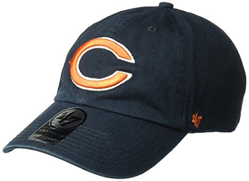 Share this article on your favorite social media and get it for free!   Show off your team spirit in style with this officially-licensed NFL team gear from '47. The '47 Clean Up adjustable hat is one of '47's bestselling signature styles and is a time-tested favorite of sports fans around the world. A garment wash, relaxed fit cap with an adjustable back (one-size-fits-most) — stylish and comfortable, the '47 Clean Up will show off your