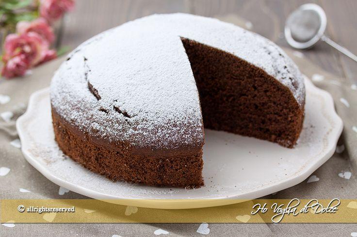 Torta+margherita+al+cacao