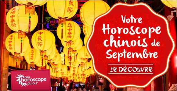 Nouveau : #horoscope #chinois de #septembre