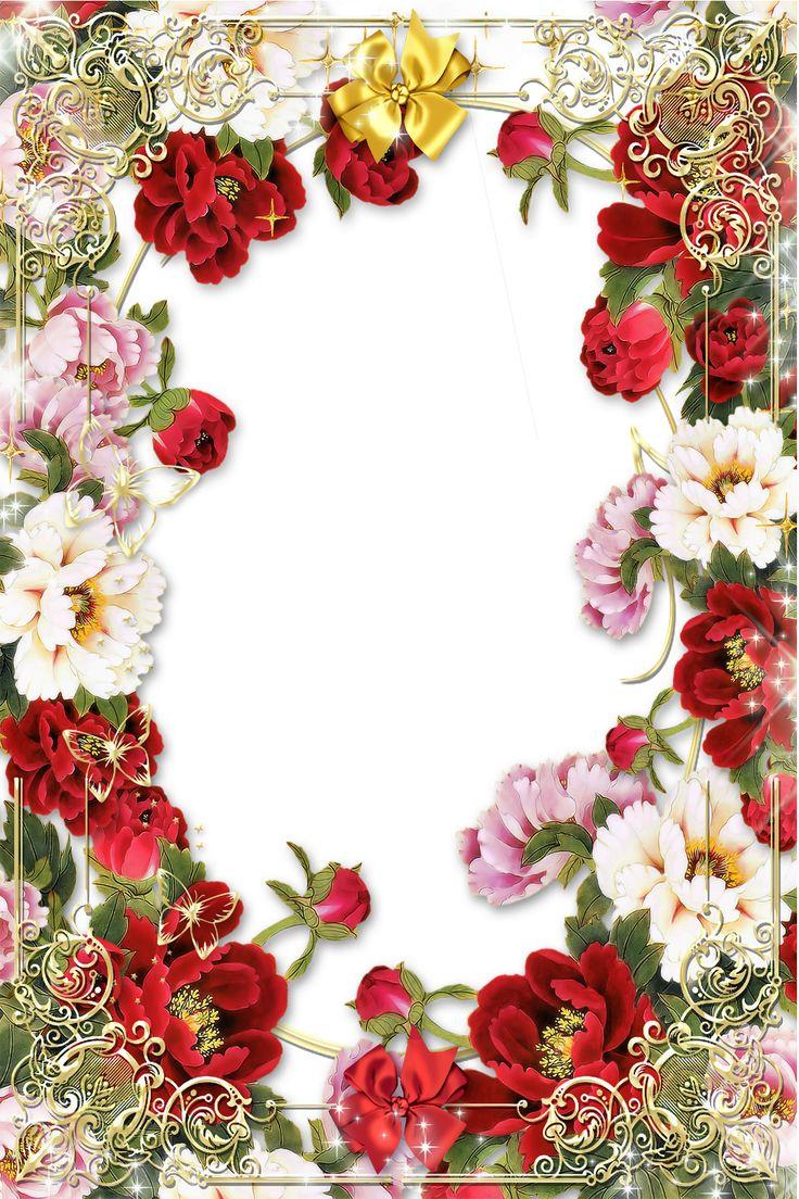 134 best Digital Frames images on Pinterest | Writing paper, Free ...