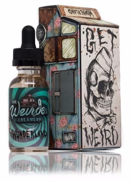 Wonderland - Weirdos Creamery #vape #vaping #eliquid@norest4thewickd