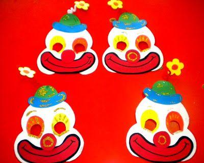 Προσχολική Παρεούλα : Αποκριάτικες κατασκευές (μάσκες –καπέλα ) !!